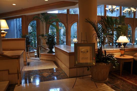 Mary Cassatt Tea Room - Entrance