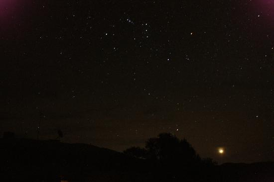 Down to Erth B &B: Night Sky above the B&B