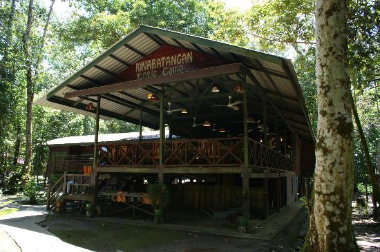 Kinabatangan Jungle Camp: The restaurant