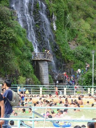 Las Piscinas de la Virgen: hot spring at day
