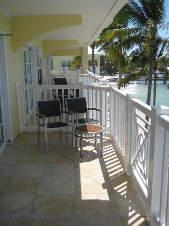 Southernmost Beach Resort : Two other balconies to the left