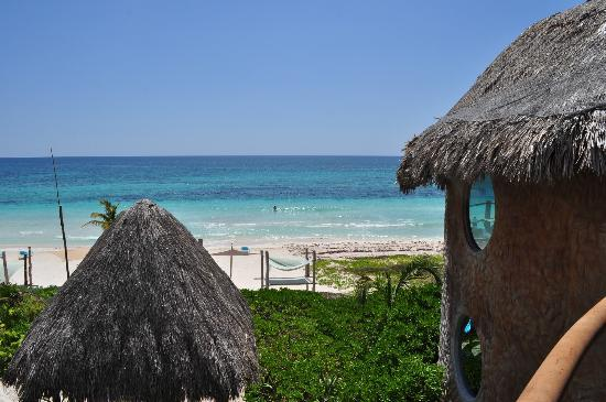 Suenos Tulum: view from balcony
