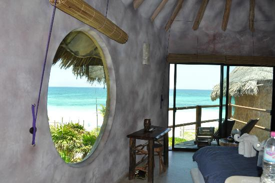 Suenos Tulum: view from bedroom