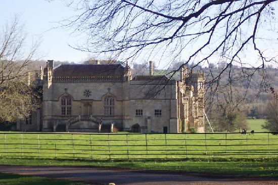 Barn Cottages at Lacock: Lacock Abbey
