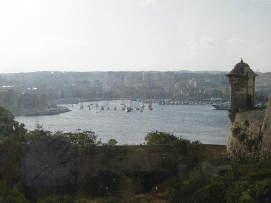 The Phoenicia Malta: View from pool