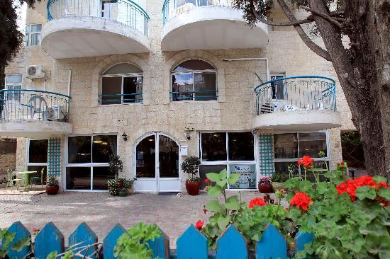 Eden Jerusalem Hotel: Hotel entrance