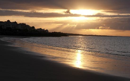 Isla Canela, Espanha: Salida sol