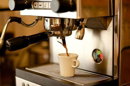 Hotel Weingarten: feinster Espresso