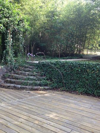 Mountain Grove B & B at Cloudland : Stone steps