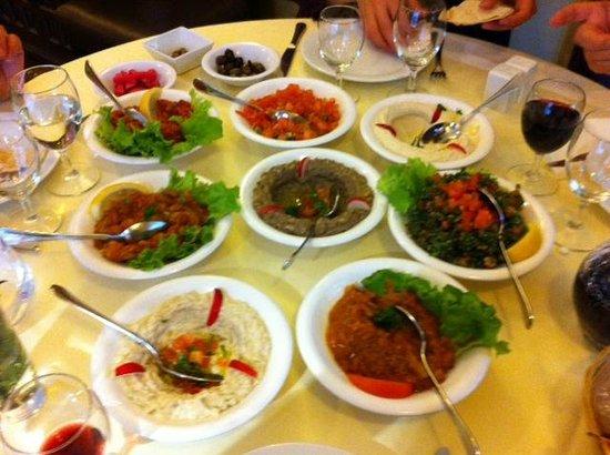 La Table Libanaise Paris 15th Arr Vaugirard Restaurant