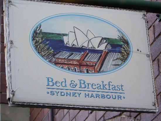 Sydney Harbour Bed and Breakfast: Walk to everything
