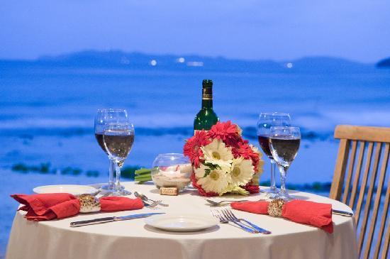 Surfsong Villa Resort : Private dinner Romance at Surfsong BVI