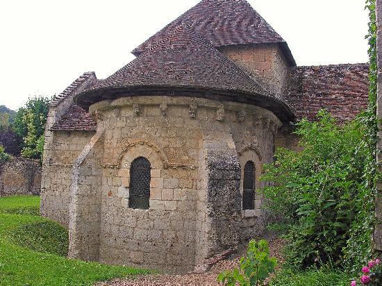 St Gilles Chapel: Montoire Chapel St Giles,pure Romanesque masterpiece