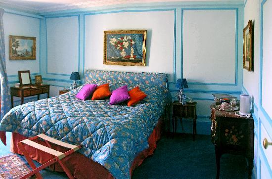 Chateau de la Barre: Chambre Bleue