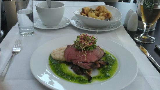 Trinity Hotel and Conference Center: Main Course