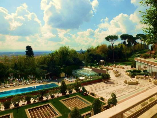 Swimming Pool And Rome View Picture Of Rome Cavalieri Waldorf Astoria Hotels Resorts Rome