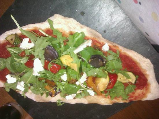 Strada - Bath: Vegetable Flat Bread