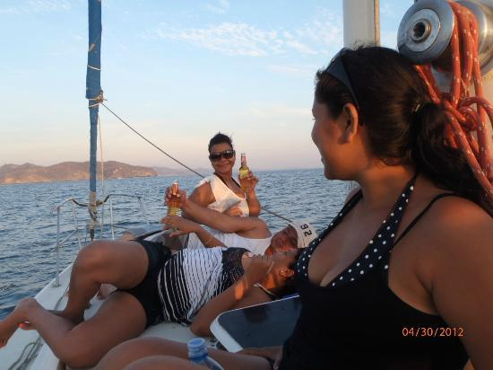 Second Wind Adventure Sail Tours: Daves Friends On Second Wind Sail Trip