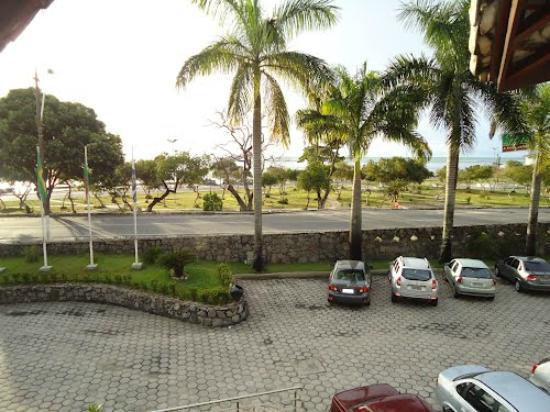BEST WESTERN Shalimar Praia Hotel: Vista dos partamentos da frente