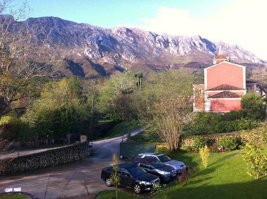 Hotel rural Arpa de Hierba: vistas desde la habitación