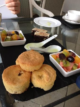 The Orangery: gluten free afternoon tea... no scones or sumptuous cakes!