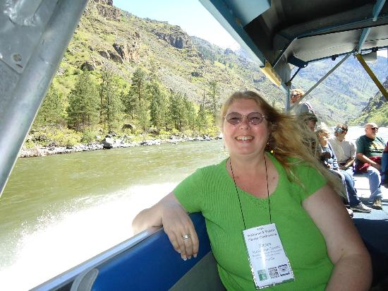 Hells Canyon Adventures: This photo was to prove I really was there!