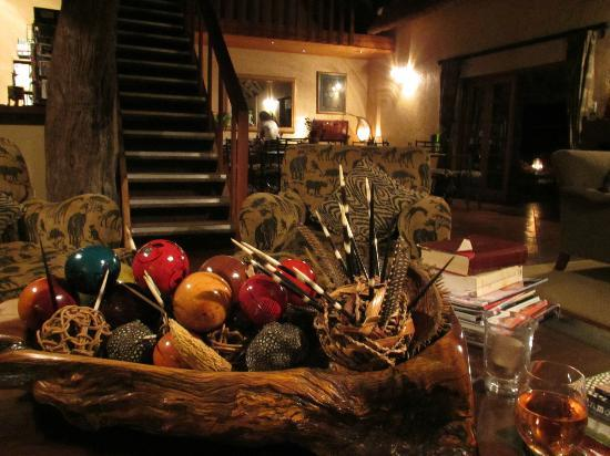Blyde River Canyon Lodge: Beautiful African decor