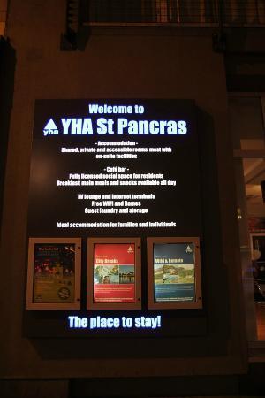 YHA London St Pancras: L'auberge