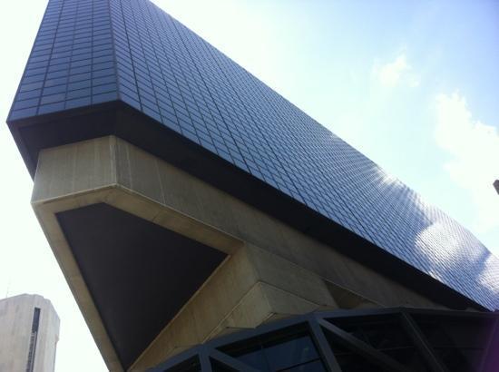 The Hyatt cantilever ... & Whatu0027s the coolest building in Columbus? : Columbus