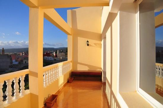 Surf Town Morocco: balcony