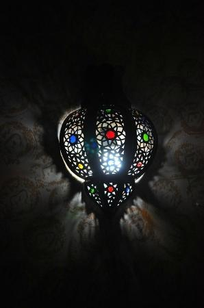 Surf Town Morocco: lamp