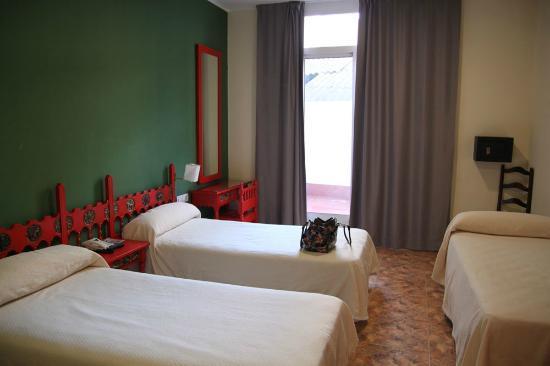 Hotel Ingles: La chambre