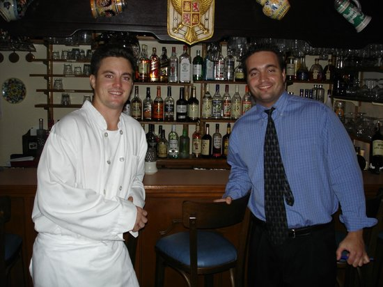 Miguel's Restaurant: Chef Gabe and your Host Dan
