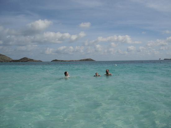 La Playa Orient Bay: La mer face à l'hôtel