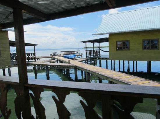 Bahia Del Sol: View of water from cabin