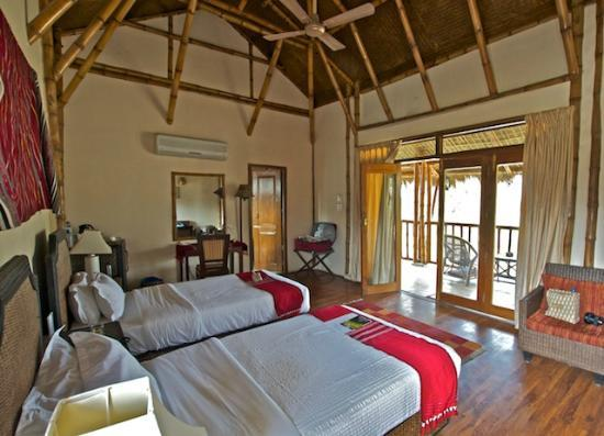 Diphlu River Lodge: Bedroom