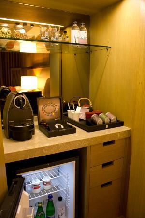 Grand View Resort Beitou: In-room minibar