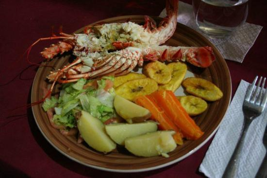 Cabanas Iron : Lobster lunch