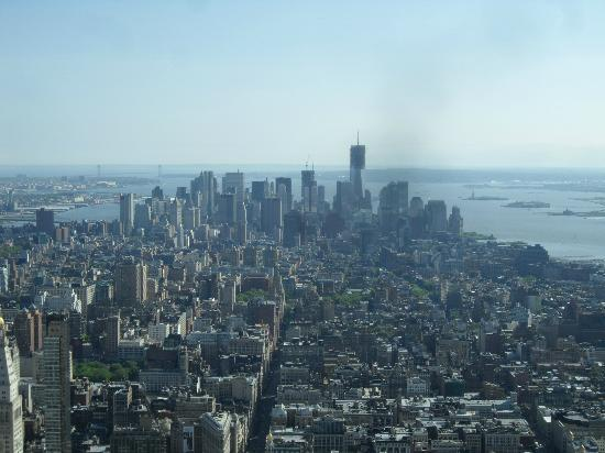 Nyc as seen from the 86th floor observation deck picture for 102 floor empire state