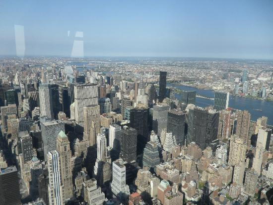 A shot from the 102nd floor observatory picture of for 102nd floor of the empire state building