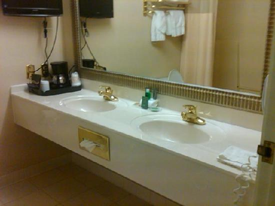 The Plaza Hotel & Suites: bathroom