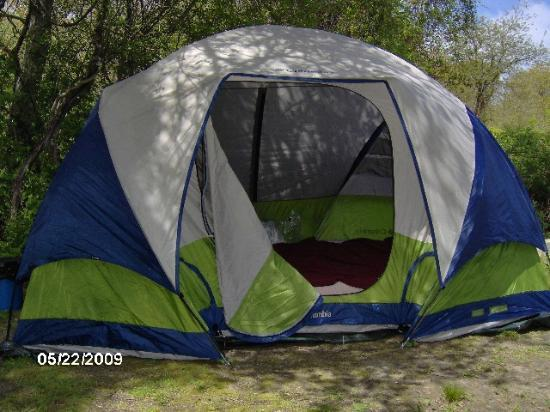 Fishermen's Memorial State Park & Campground: Our tent