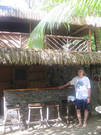 Escape at Red Rock Haven: What a perfect beach bar!