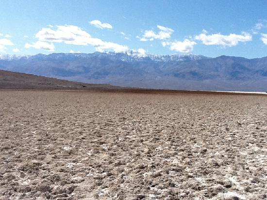 Panamint Mountains : Panamint from Badwater