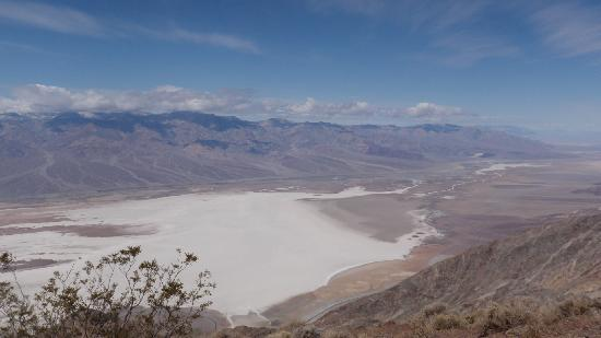 Panamint Mountains : Panamint range from Dante's