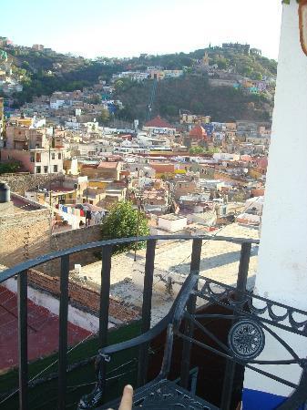 La Casa Azul: Desde la Terraza del Hotel. Un 10.