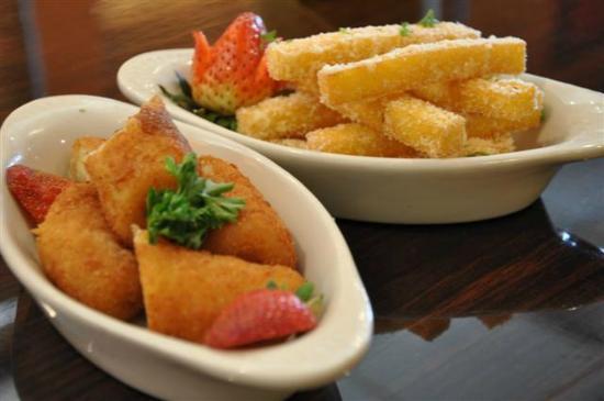 Gauchao Brazilian Steakhouse: Fried Polenta