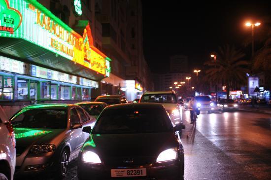 Karachi Darbar: exterior view