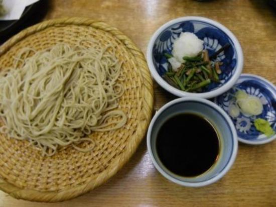 Teuchisobadokoro Yusui: 山菜おろしそば