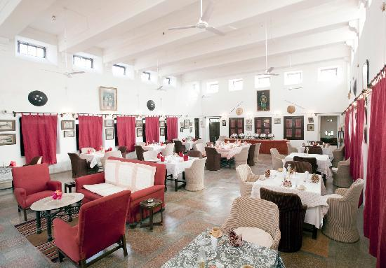 Ghānerao, India: The dinning hall